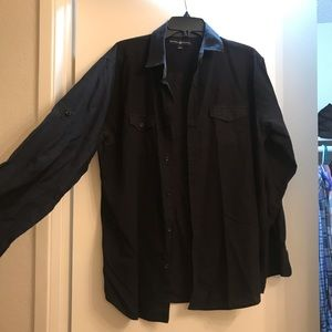 Beverly Hills polo club button up Large